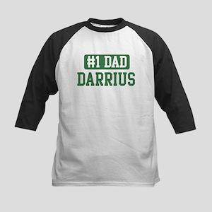 Number 1 Dad - Darrius Kids Baseball Jersey
