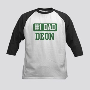 Number 1 Dad - Deon Kids Baseball Jersey