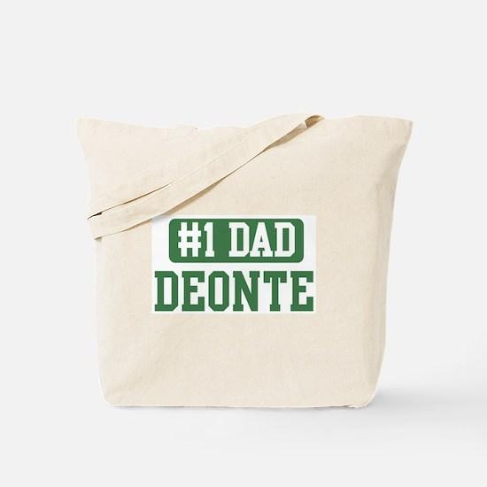 Number 1 Dad - Deonte Tote Bag