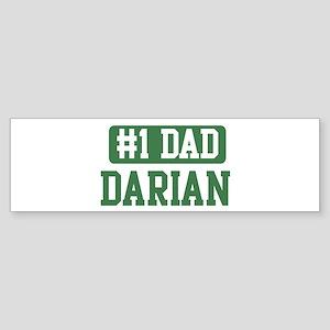 Number 1 Dad - Darian Bumper Sticker