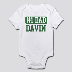 Number 1 Dad - Davin Infant Bodysuit