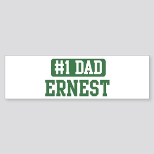 Number 1 Dad - Ernest Bumper Sticker