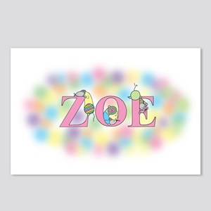 """""""Zoe"""" with Mice Postcards (Package of 8)"""