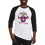 Alderete Coat of Arms Baseball Jersey