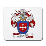 Alderete Coat of Arms Mousepad