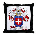 Alderete Coat of Arms Throw Pillow
