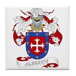 Alderete Coat of Arms Tile Coaster