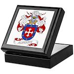 Alderete Coat of Arms Keepsake Box