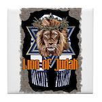 Lion of Judah 2 Tile Coaster