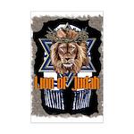 Lion of Judah 2 Mini Poster Print