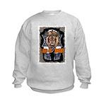 Lion of Judah 2 Kids Sweatshirt