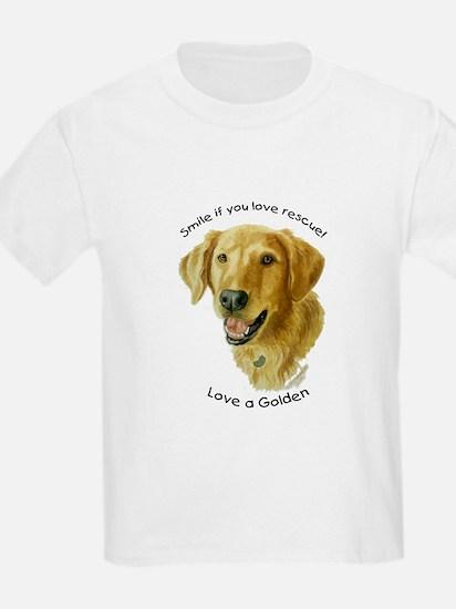 Love a Golden Kids T-Shirt