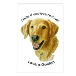 Love a Golden Postcards (Package of 8)