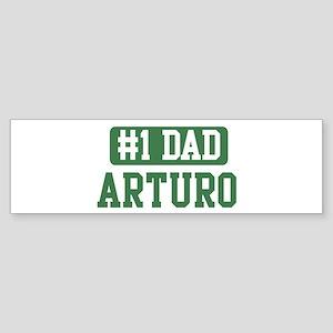 Number 1 Dad - Arturo Bumper Sticker