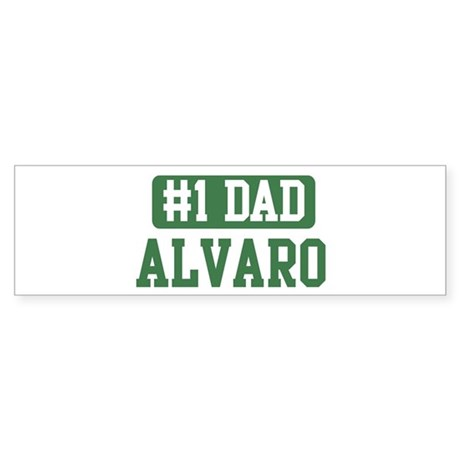 Number 1 Dad - Alvaro Bumper Sticker