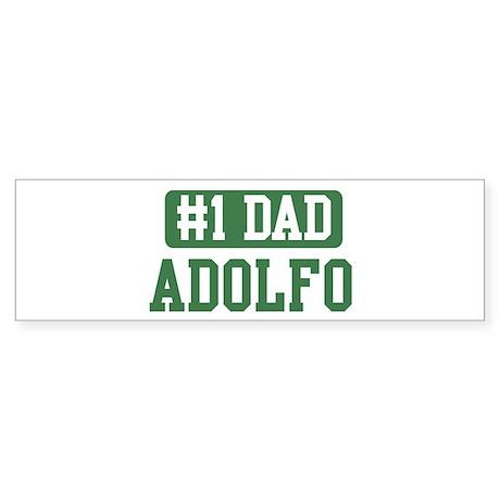 Number 1 Dad - Adolfo Bumper Sticker