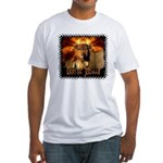 Lion of Judah 4 Fitted T-Shirt