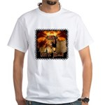 Lion of Judah 4 White T-Shirt