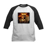 Lion of Judah 4 Kids Baseball Jersey