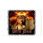 Lion of Judah 4 Postcards (Package of 8)