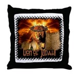 Lion of Judah 4 Throw Pillow