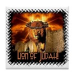 Lion of Judah 4 Tile Coaster