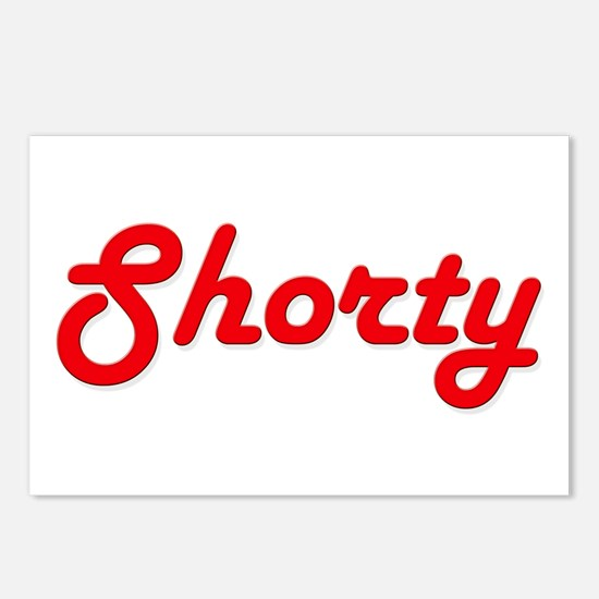 Shorty (Red Lettering) Postcards (Package of 8)