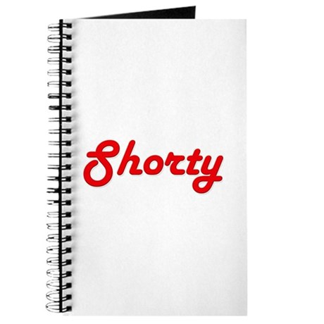 Shorty (Red Lettering) Journal