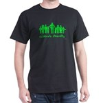 Black green alien diversity T-Shirt