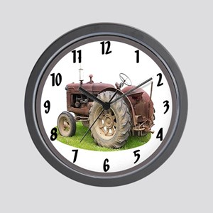 Old Tractor Wall Clock