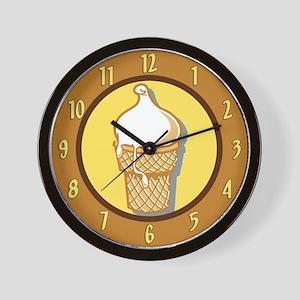 I Scream For Ice Cream Wall Clock