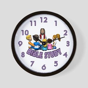 Bible Study Wall Clock