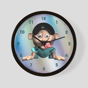 Crawling Baby Wall Clock