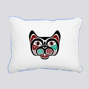 Northwest Pacific coast Haida Kitty Rectangular Ca
