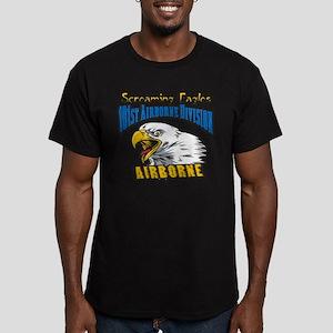 101st Airborne Men's Fitted T-Shirt (dark)