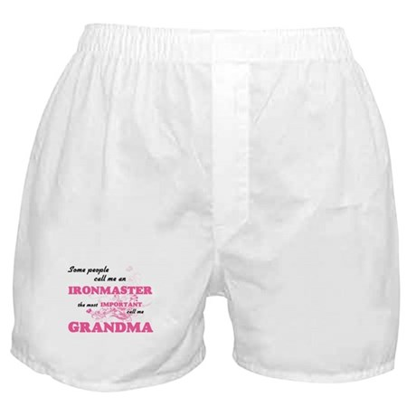 Some call me an Ironmaster, the most Boxer Shorts