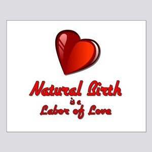 Natural Birth Small Poster