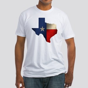 State of Texas Fitted T-Shirt