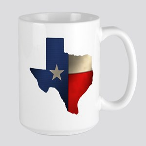 State of Texas Large Mug