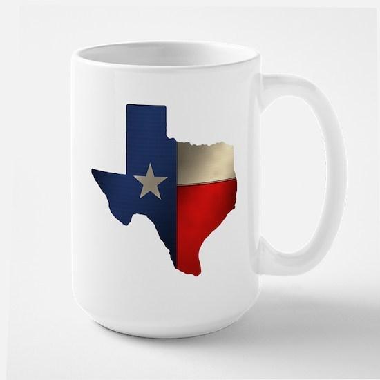 State of Texas Large Mug