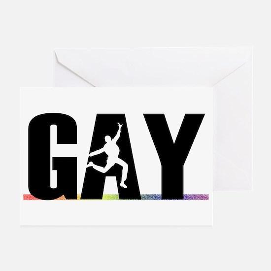 Gay Pride - Gay Greeting Cards (Pk of 10)