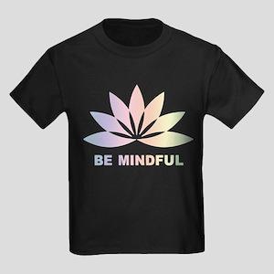 Be Mindful Kids Dark T-Shirt
