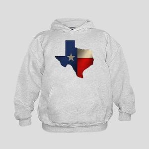 State of Texas Kids Hoodie