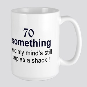 70 Something Large Mug