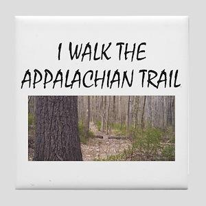 Appalachian Trail Americabesthistory. Tile Coaster