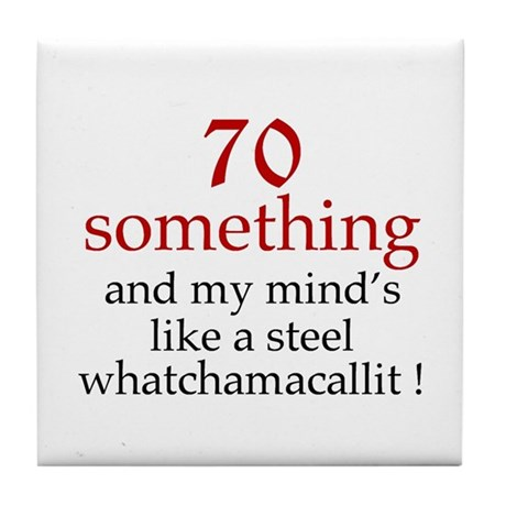 70...Whatchamacallit Tile Coaster