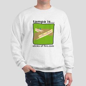 Tampa is... Cubans Sweatshirt