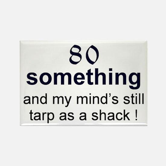 80 Something Rectangle Magnet (10 pack)