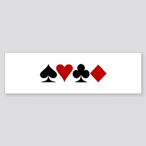 Poker! Bumper Sticker