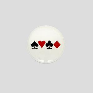 Poker! Mini Button